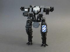 Animated Tyrant MK.II (Dryvvall) Tags: robot tank walker animated gif mecha bipedal mech rotate railgun