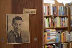 Salinger (rachel hawkes) Tags: bookstore books shelf bookshelf eureka california shop macro close up photograph salinger