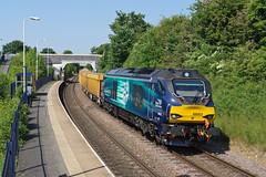 68003 South Wigston (Gridboy56) Tags: railroad train leicestershire leicester trains locomotive railways locomotives mountsorrel drs astute wigston railfreight 68003 class68 southwigston 6u76