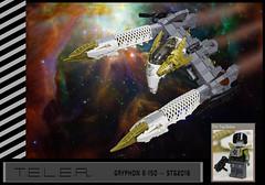 STG T.E.L.E.R. -- Gryphon E-150 (Uspez) Tags: lego stg starfighter telephonegame