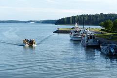 Nice boat (evisdotter) Tags: finland landscape boats habor hamn seacape pargas parainen btar sooc