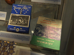 Wembley 1961 (lcfcian1) Tags: new june museum nikon display leicestershire walk leicester programs foxes 1961 fearless wembley nikond3200 leicestercity lcfc newwalkmuseum leicestercityfc fearlessfoxes newwalkmuseumfearlessfoxes