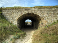 tunnel to Arch Beach from Lager Norderney om Alderney (neilalderney123) Tags: bridge arch nazi alderney lager 2016neilhoward lagernorderney