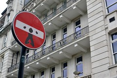 2016-05-30: In Stocks (psyxjaw) Tags: road street london sign hospital graffiti balcony central stocks holborn londonist adoorinawall adiaw