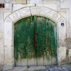 green door (eb78) Tags: door turkey middleeast cappadocia anatolia goreme