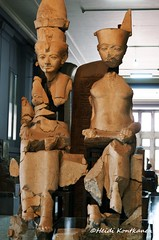 Mut and Amun (konde) Tags: sculpture art statue goddess limestone karnak 18thdynasty mut ancientegypt amun cairomuseum newkingdom horemheb