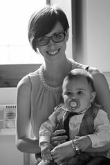 Alice (Andrea Brocca) Tags: portrait blackandwhite portraits monocromo blackwhite persone mum mamma bimbo mam ritratti ritratto battesimo biancoenero controluce gabriele bambino gabri andreabrocca andreabroccait
