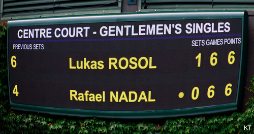 Lukas Rosol - Is history about to repeat itself?
