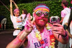 The Color Run (MaOrI1563) Tags: italy color florence italia run tuscany firenze toscana colori corsa lecascine parcodellecascine colorrun thecolorrun maori1563 thecolorrunfirenze2015