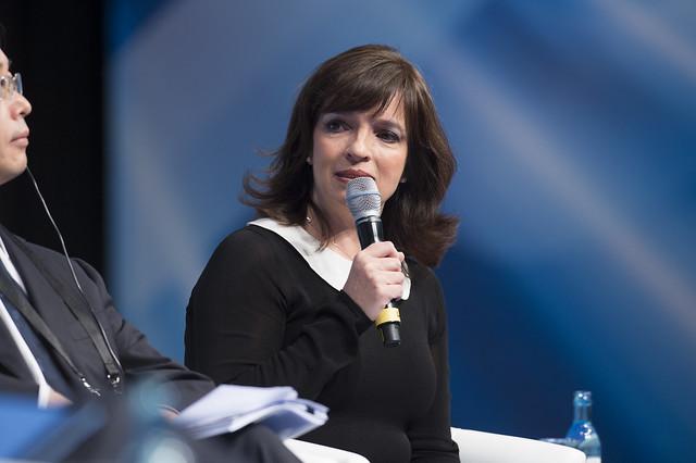 Yuriria Mascott Pérez speaking