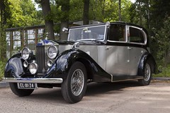 Rolls Royce Sedanca 25/30 - 1932 (PhotompNL) Tags: classic car canon rally nederland rollsroyce voiture vehicle oldtimer hilversum vumc classiccars rotary bussum rccr zonnestraal vtran vetern landgoed  sigmalenses   5dmkii landgoedzonnestraal