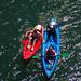 Bajar el Sella en canoa