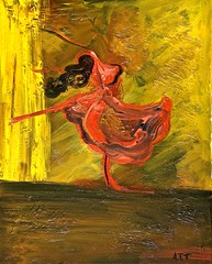 Tango Dancer (Alex Akis) Tags: abstract colors oil