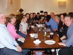 Forrest members at Leigh Badminton League end of season presentation