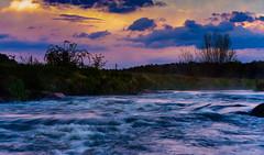 Enjoy (Conrad-N) Tags: water fence river flow spree