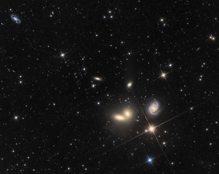 Hickson Compact Group 68 - a wonderful collection of galaxies