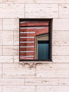 reflected window