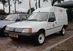 Peugeot 205 F Van 11-3-1996 17-VX-RT (Fuego 81) Tags: 1996 f van peugeot 205 bestelwagen fourgonette grijskenteken sidecode5 17vxrt