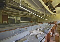 Bunsen Burner (jgurbisz) Tags: ny newyork abandoned college lab classroom decay nj science laboratory millbrook vacantnewjerseycom bennettschoolforgirls jgurbisz