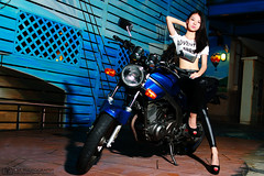 (BTM Photography TW) Tags: portrait people woman cute sexy girl beautiful beauty canon women pretty taiwan motorcycle 24mm        70d 24l 24lii