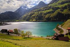 Magic lake.... (Alex Switzerland) Tags: alps green nature colors canon landscape eos schweiz switzerland natura svizzera landschaft paesaggio 6d lungernsee obwalden obvaldo