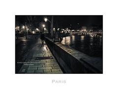 Paris n66 Quai de Bourbon (Nico Geerlings) Tags: paris france seine night 50mm streetphotography nuit summilux nocturne parijs ilesaintlouis quaidebourbon nicogeerlings leicammonochrom ngimages nicogeerlingsphotography