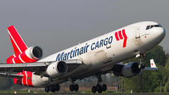 Martinair Cargo McDonnell Douglas MD-11F PH-MCU (Aviation and Travel photography) Tags: amsterdam canon airport team flickr outdoor aircraft aviation jet nederland cargo schiphol md11 jetliner martinair polderbaan phmcu