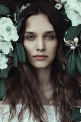 janina. (sandra.scherer) Tags: portrait beauty 50mm natural frankfurt mutedcolors palmengarten goodtimes canon5diii analoraphotoart
