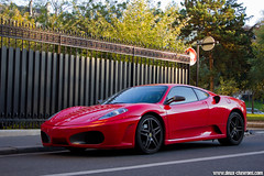 Spotting 2011 - Ferrari F430 (Deux-Chevrons.com) Tags: auto street paris france car automobile automotive ferrari spot voiture exotic coche spotted gt rue luxury supercar luxe spotting f430 supercars 430 ferrarif430 sportcar prestige ferrari430 croise