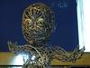 Creepy child statue in Bradford