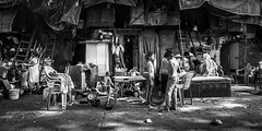 Friendship (Acero666) Tags: bw blackwhite bombay hindi hindu maharashtra mumbai boy boys darkart friends ghetto india shanty slum street urban