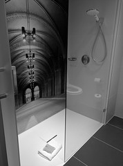 Bath, NH Hotel, Hoofddorp, NL_181510(1) (Patterns and Light) Tags: netherlands shower hotel bath toilet nh hoofddorp 2016