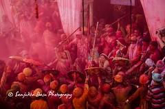Barsana Nandgaon Lathmar Holi Low res (46 of 136) (Sanjukta Basu) Tags: holi festivalofcolour india lathmarholi barsana nandgaon radhakrishna colours