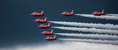 The Reds (Steve Lavelle) Tags: jet arrows redarrows raf