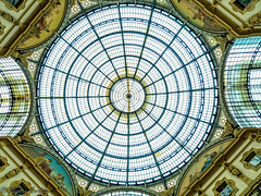The glass dome in Milan (stephencurtin) Tags: italy milan glass dome galleria emanuel vittorio