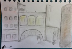 DresdenII (loulila71) Tags: summer holiday art dresden sketch sommer watercolour ferien aquarell sketchaday urbansketch todaysdoodle