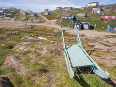 Dog sled (James E. Petts) Tags: dog greenland kulusuk rosebud sled