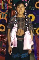 Paxku Pascuala Hernandez Chiapas (Teyacapan) Tags: zinacantan huipil textiles clothing timeline fabrics designs maya woman mujer huipiles