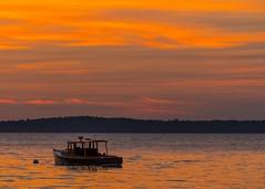 Orr Cove (Michael Delchamp) Tags: maine orrcove twilight islesboro brooksville hancockcounty harborside penobscotbay caperosier