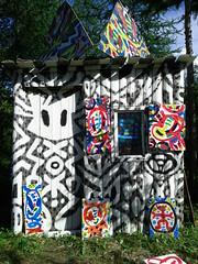 La cabane du peintre (wahcomix) Tags: cabane peintre art artiste wah comix wahcomix guy boutin peinture sculpture environement stjeanne darc de mtis
