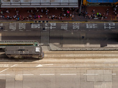 Commuters.Causeway Bay, Hong Hong, 2016 (Luke Hasnotenough) Tags: 2016 china hongkong causewaybay hennessy road tram commuters xt1 35mm f2