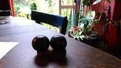 Plums. (Portlandbill) Tags: plums pair testicles balls bollocks