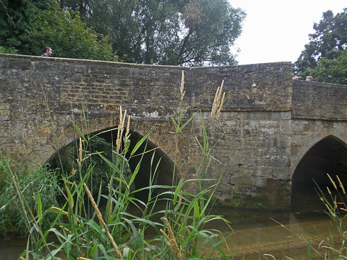 Old Bridge and Ford, Geddington, Northamptonshire
