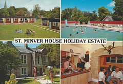 St Minver House Holiday Estate (trainsandstuff) Tags: rock vintage cornwall postcard retro holidaycamp stminver saintminver