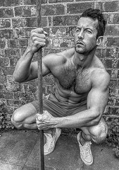 05 (lightandform) Tags: man men guy poser athletic looking masculine good muscular young handsome guys pack strong posers six rugged fit stylish