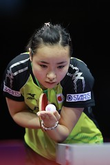 ITO_Mima_WTTC2015_R_G_8612r (ittfworld) Tags: world sport ball championship shanghai emotion action young tennis tabletennis junior championships chine