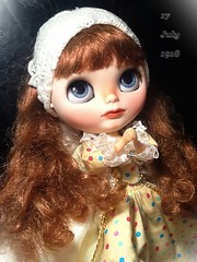 """Blythe-a-Day May#19: Off with Your Head: Juliette as  One of the """"Passion Bearers""""..."""