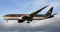 Royal Jordanian Boeing 787-8 Dreamliner JY-BAE Approach (Mark 1991) Tags: london heathrow boeing lhr heathrowairport 787 royaljordanian londonheathrow dreamliner 7878 jybae