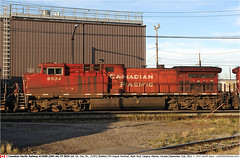 CP9634GB_Calgary210911 (Catcliffe Demon) Tags: canada beaver alberta canadianpacific railways cpr generalelectric canadianpacificrailway rosters ac44cw ac4400 ac4400cw canadatrip2sep2011