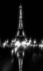 Eiffel Tower, B&WMay 2015